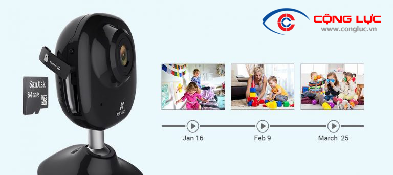 Camera wifi ezviz mini plus cao cấp