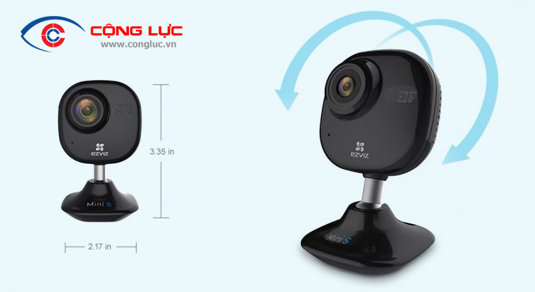 Camera ezviz mini plus xoay 180 độ