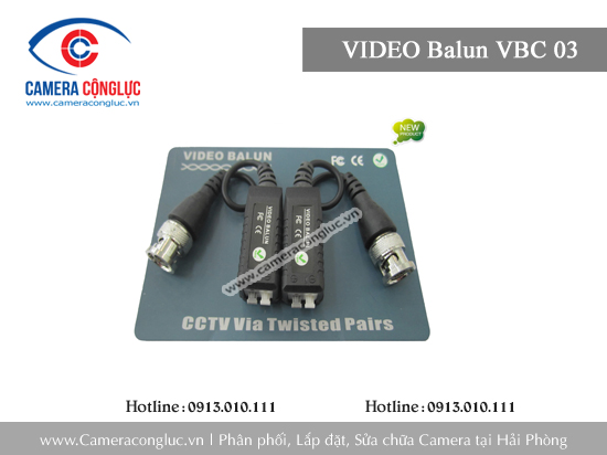 VIDEO Balun VBC 03 NEW