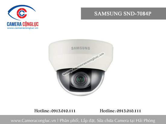 Camera IP Samsung SND-7084P