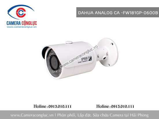 Camera Dahua Analog CA-FW181GP-0600B