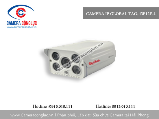 Camera IP Global TAG- i3F12F-4