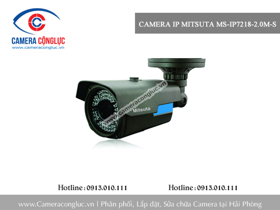 Camera IP Mitsuta MS-IP7218-2.0M-S