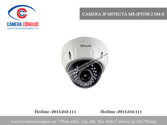 Camera IP Mitsuta MS-IP5358-2.0M-S
