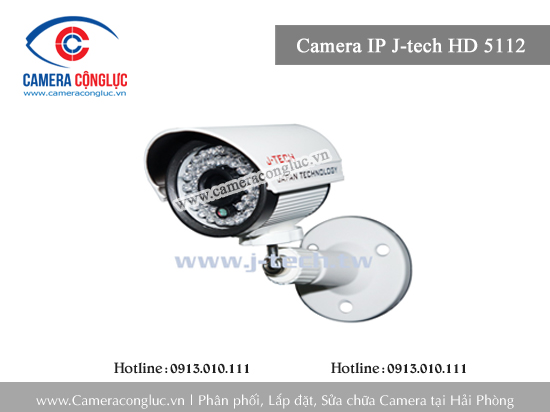 Camera IP J-Tech JT HD 5112